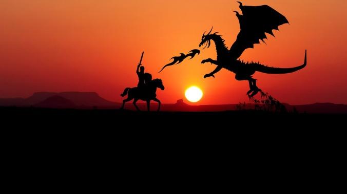 sunset-knight